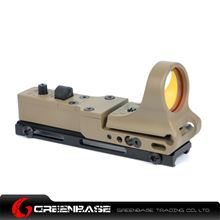 Picture of NB Tactical Railway Reflex Sight Red Dot For 20 Rail Dark Earth NGA1243
