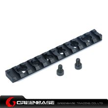 Picture of NB 120mm 20mm Rail Base 12 Slots For Handguard Black GTA1527
