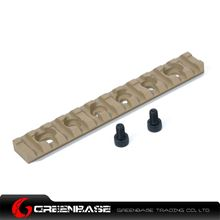 Picture of NB 120mm 20mm Rail Base 12 Slots For Handguard Dark Earth GTA1528
