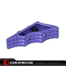 Picture of NB CNC M-LOK Angled Grip Purple GTA1532