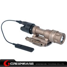 Picture of GB M952V LED WeaponLight For Rifles And SMGs White And IR Output Dark Earth NGA1253