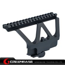 Picture of CNC AK47/74 Side Rail Scope Mount Unmark Black GTA1129