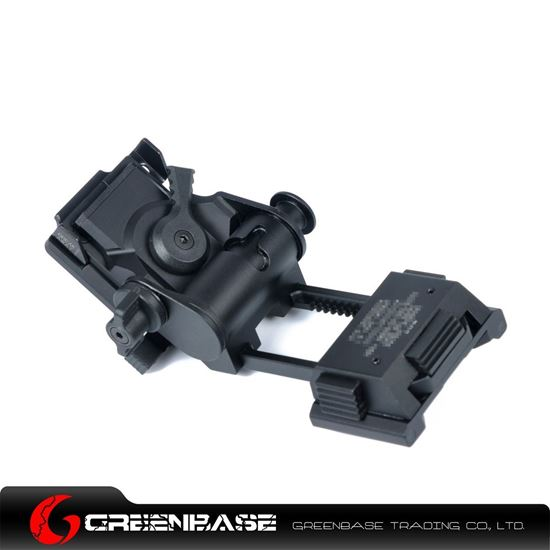 Picture of GB L4 G24 NVG Fast Helmet Mount Breakaway Base Black NGA1258