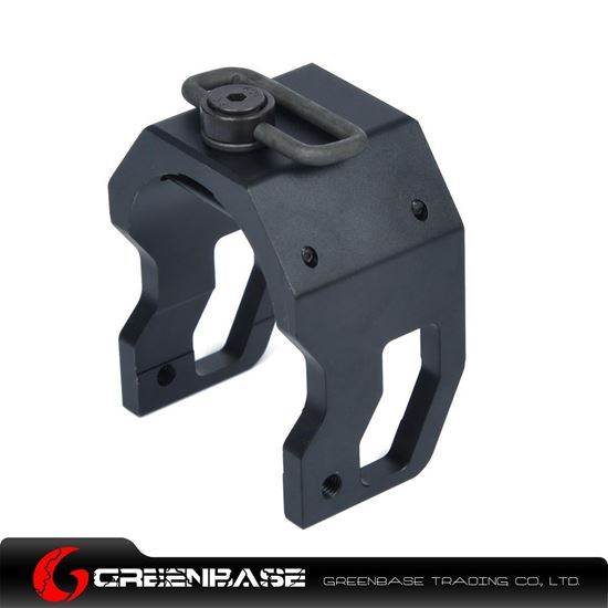 Picture of NB B Type Tactical P90 Sling Swivel End Black GTA1537  GTA1537