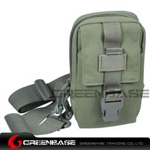 Picture of 9119# 1000D Inclined shoulder bag Ranger Green GB10179