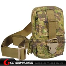 Picture of 9119# 1000D Inclined shoulder bag Green Camouflage GB10182