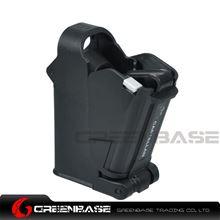 Picture of GB Pistol Magazine Speed Loader and Unloader 9mm Bullet Loader Polymer Black GTA1543