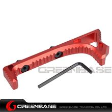Picture of NB M-lok Link Curved Forefrip Red NGA1327