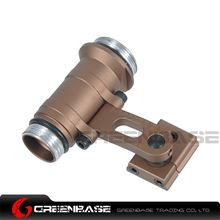 Picture of GB Precision Low Profile Helmet Mount M300B M300C M300V Series Flashlight Mount For ARC Helmet Rail Coyote Brown NGA1343