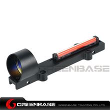 Picture of NB 1X28 Collimeter Sight Optic Fiber Red Circle Dot Sight For Shotgun Black NGA1347