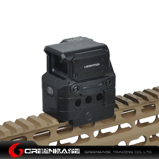 Picture of GB Tactial FC1 Red Dot Sight 2 MOA Reflex Sight 1x Holographic Sight For 20mm Rail Black NGA1410  NGA1410