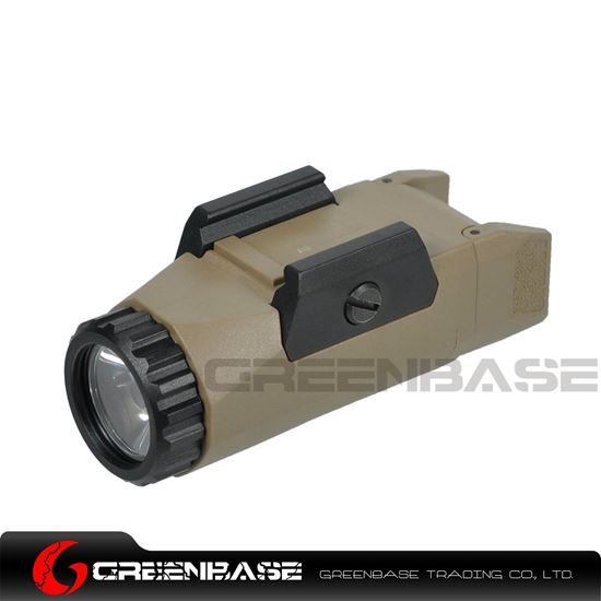 Picture of NB APL-G3 Weaponlight Constant/Momentary/Strobe Flashlight 400 Lumens LED White Light Dark Earth NGA1440