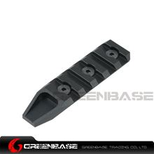 Picture of Unmark Keymod 5 slot rail section for URX 4.0 Black GTA1195