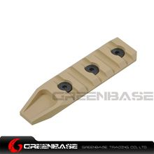 Picture of Unmark Keymod 5 slot rail section for URX 4.0 Dark Earth GTA1196