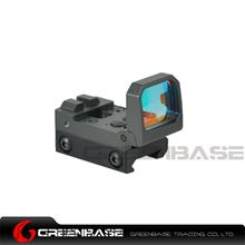Picture of NB RMT Flip Red Dot Scope Folding Reflex Red Dot Pistol Rifle Sight Scope Grey NGA1556