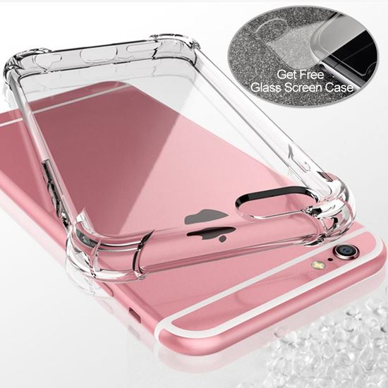 Picture of TPU soft clear Phone case For iPhone 6/6s  PHC-6