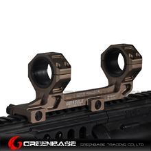 Picture of GB GE Scope Mount 25.4mm/30mm Scope Ring Mount Short Version Gold Brown NGA1551